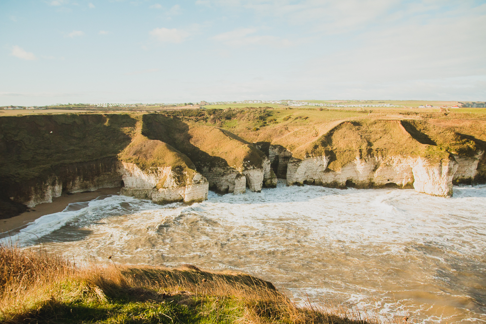 North Landing, Flamborough Head, Yorkshire