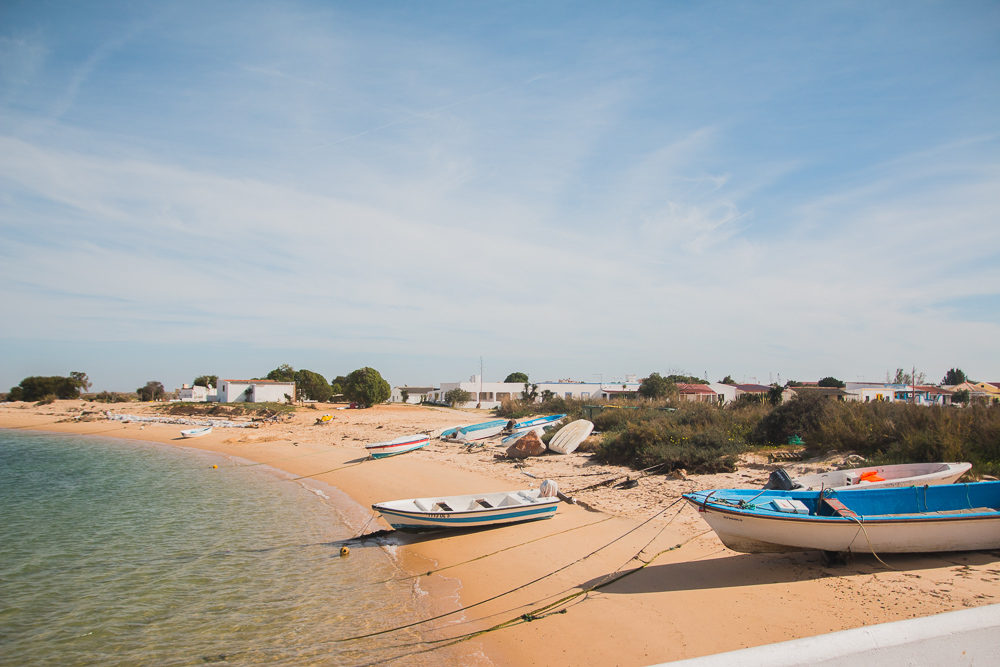 Visit Farol in Ria Formosa Natural Park in the Algarve, Portugal