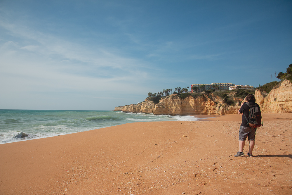 Cove Redonda Beach, The Algarve