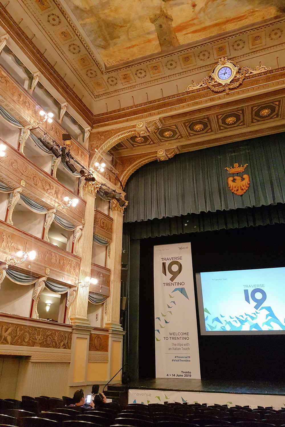 Teatro Sociale in Trento, Italy for Traverse 19