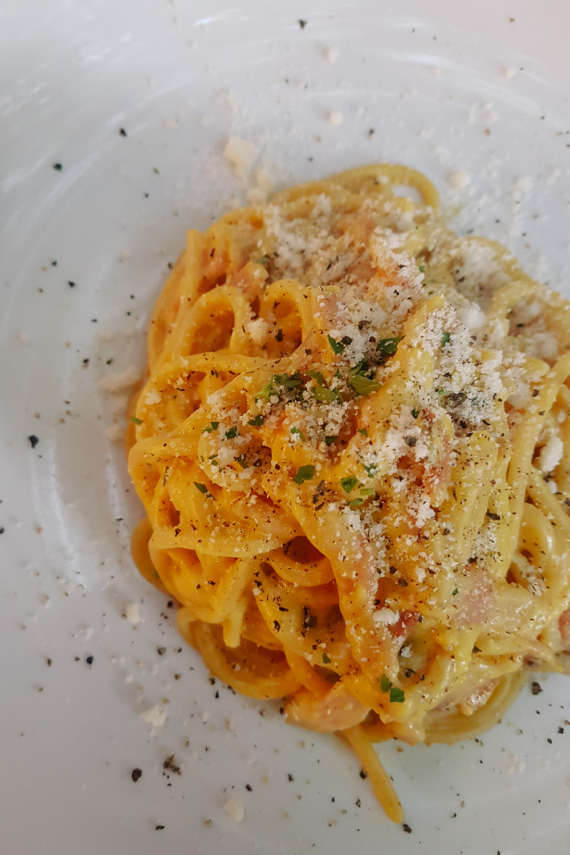 Pasta in Trento Italy
