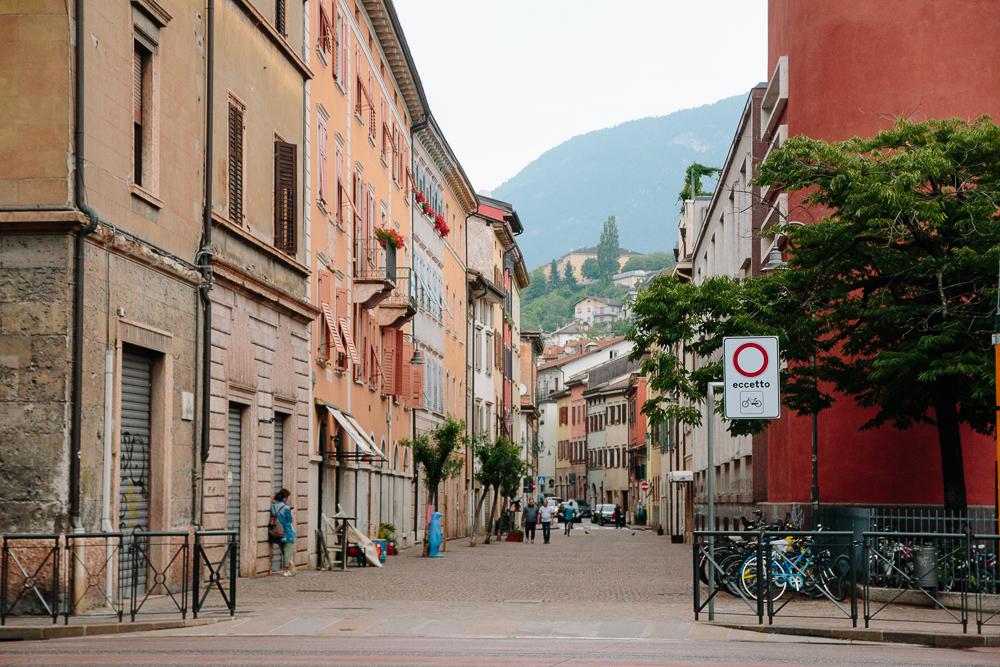 Streets of Trento Italy
