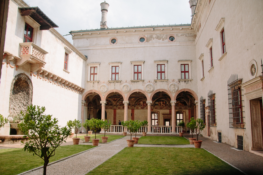Castello del Buonconsiglio in Trento Italy