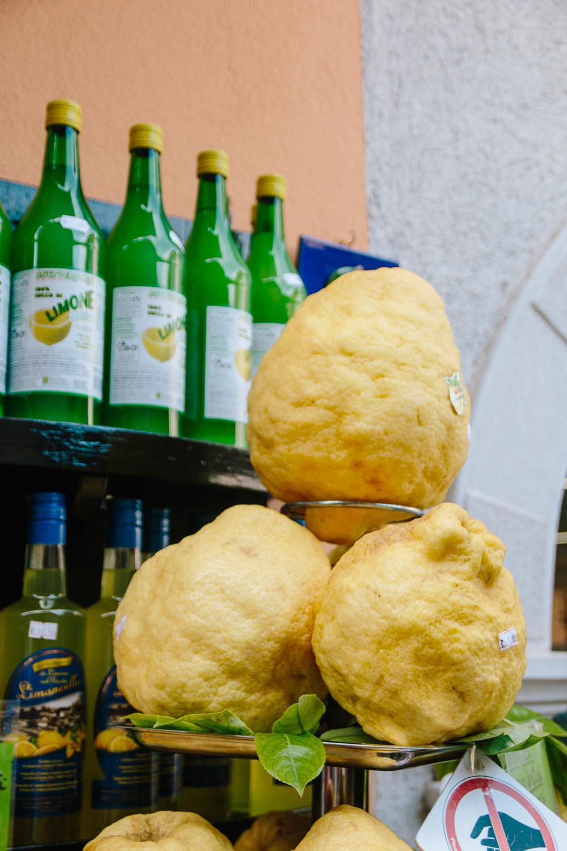 Giant Lemons in Limone, Lake Garda