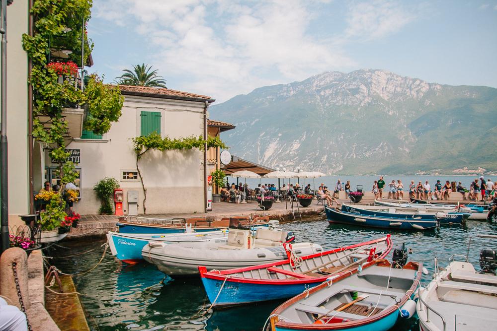 Marina in Limone, Lake Garda
