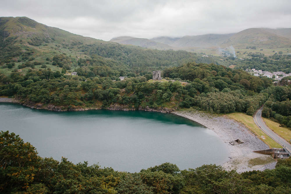 Snowdonia Dinorwic Quarry Hike