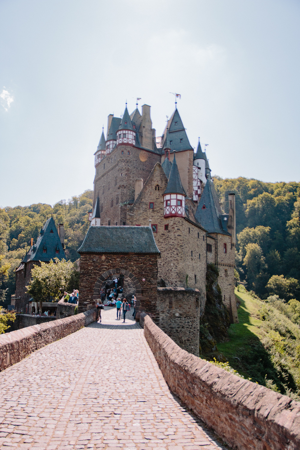 Views over Burg Eltz Castle
