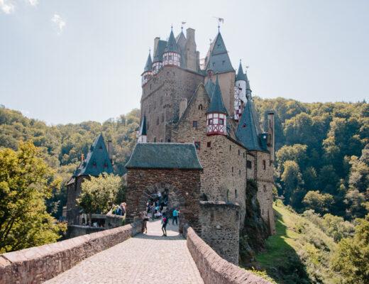 Views over Burg Eltz Castle