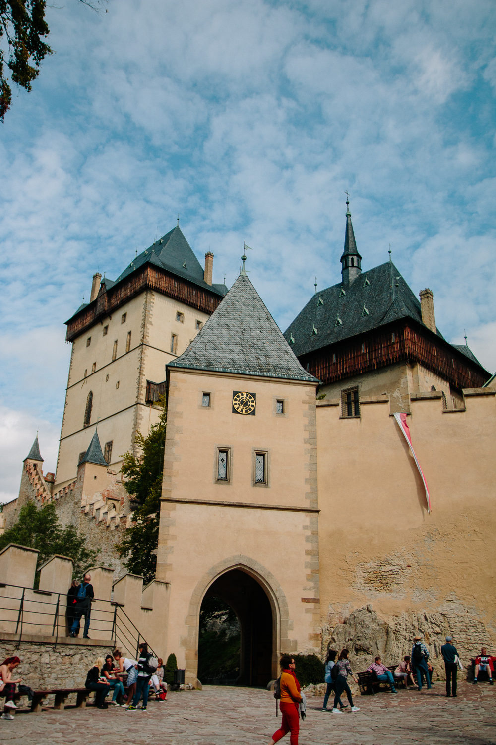 Karlstejn Castle near Prague