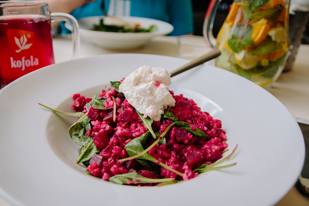 Beetroot Risotto in Czechia