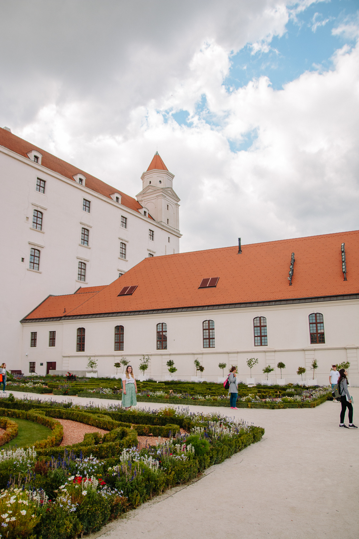 Gardens at Bratislava Castle