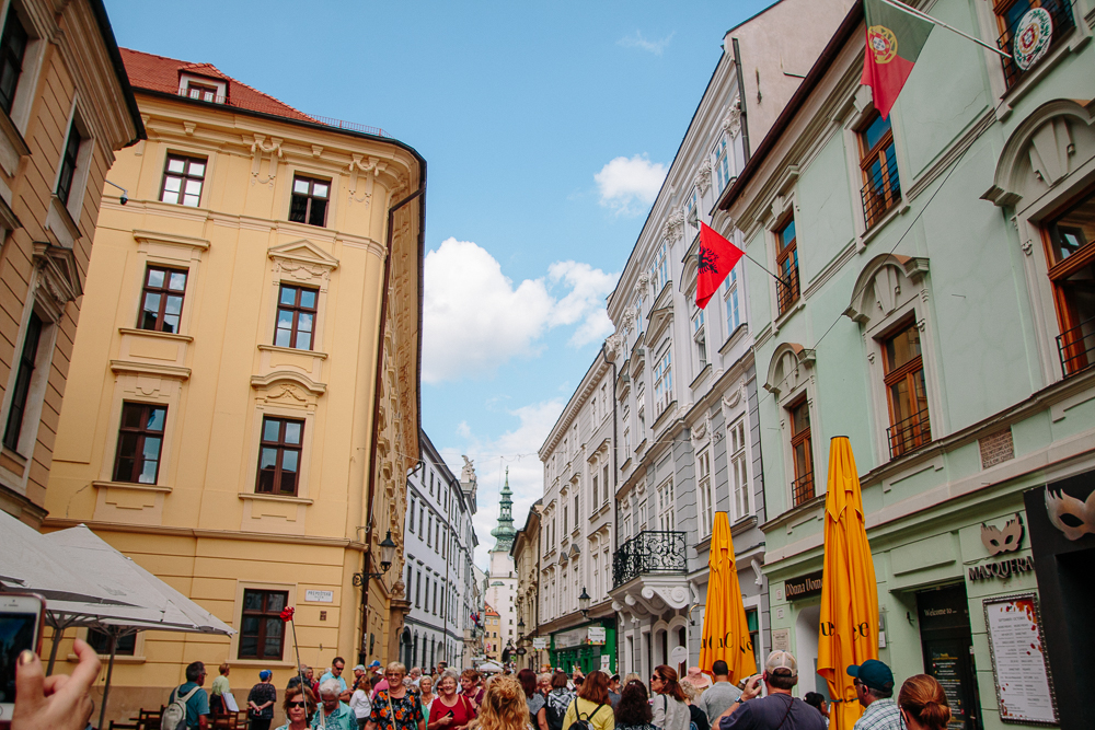 The Colourful Streets of Bratislava