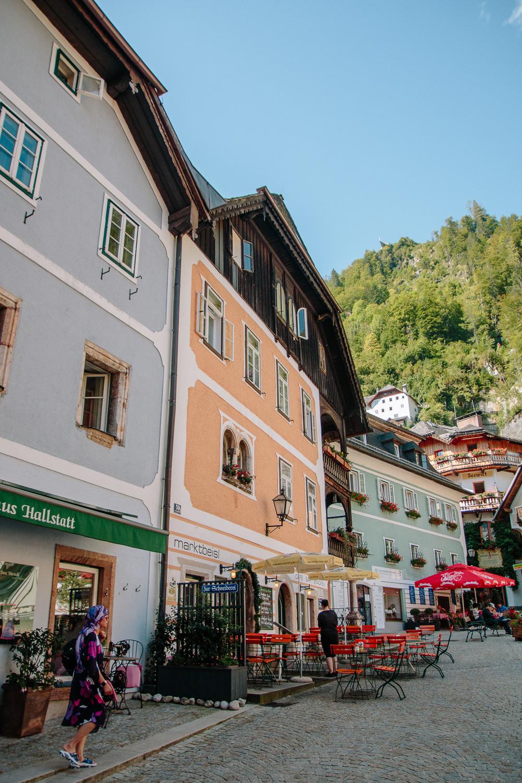 Exploring the Streets of Hallstatt