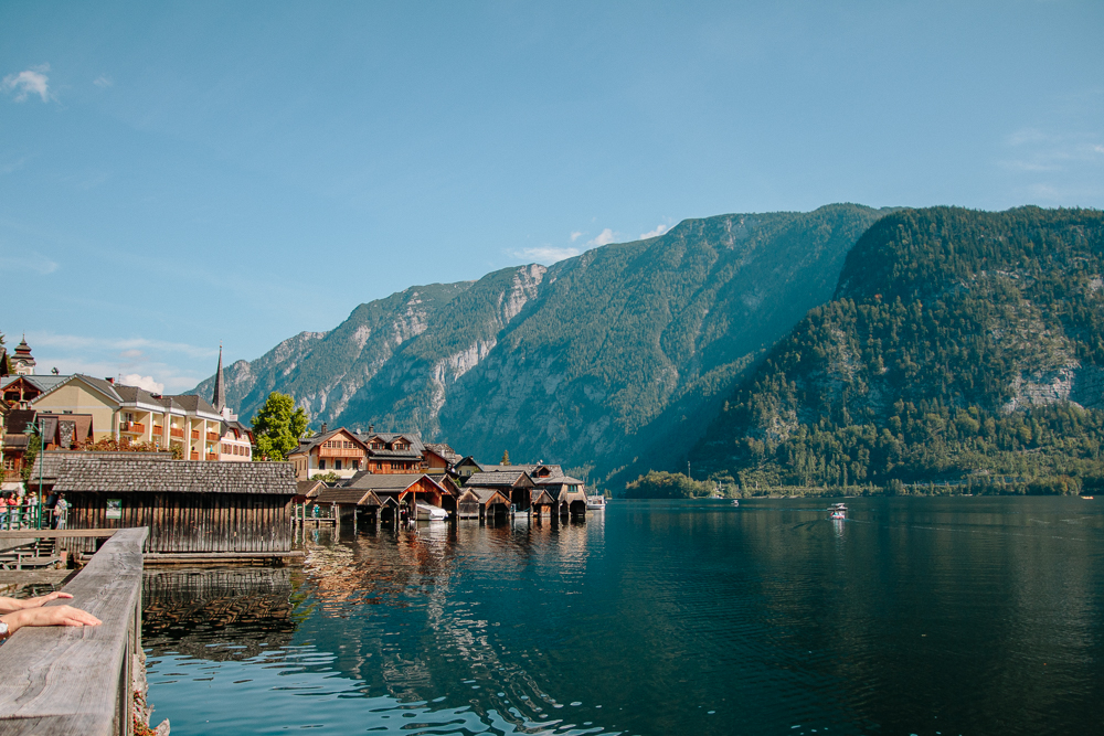 Views of Hallstatt from the Lake
