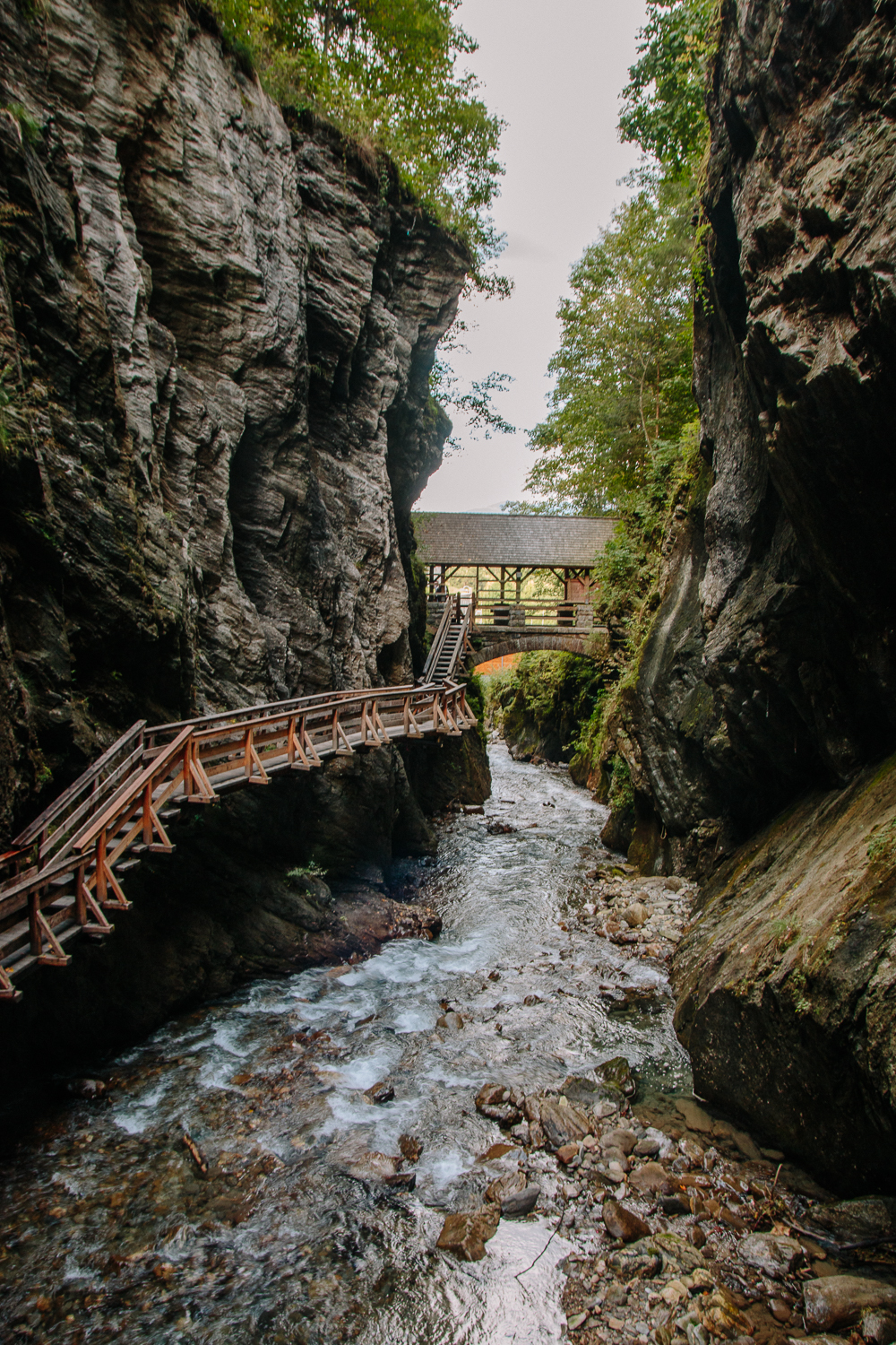 Sigmund Thun Gorge at Zell am See, Austria