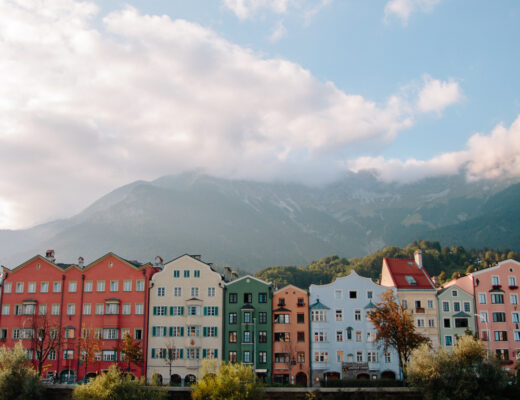 Colourful Houses of Innsbruck