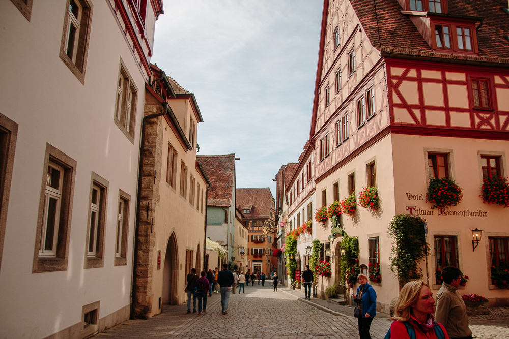 Rothenburg ob der Tauber Old Town