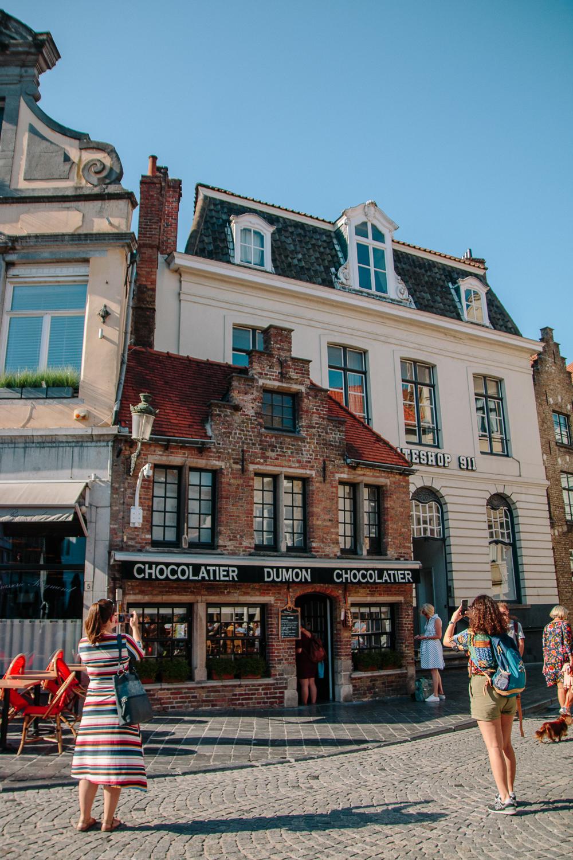 Chocolate Shop Bruges