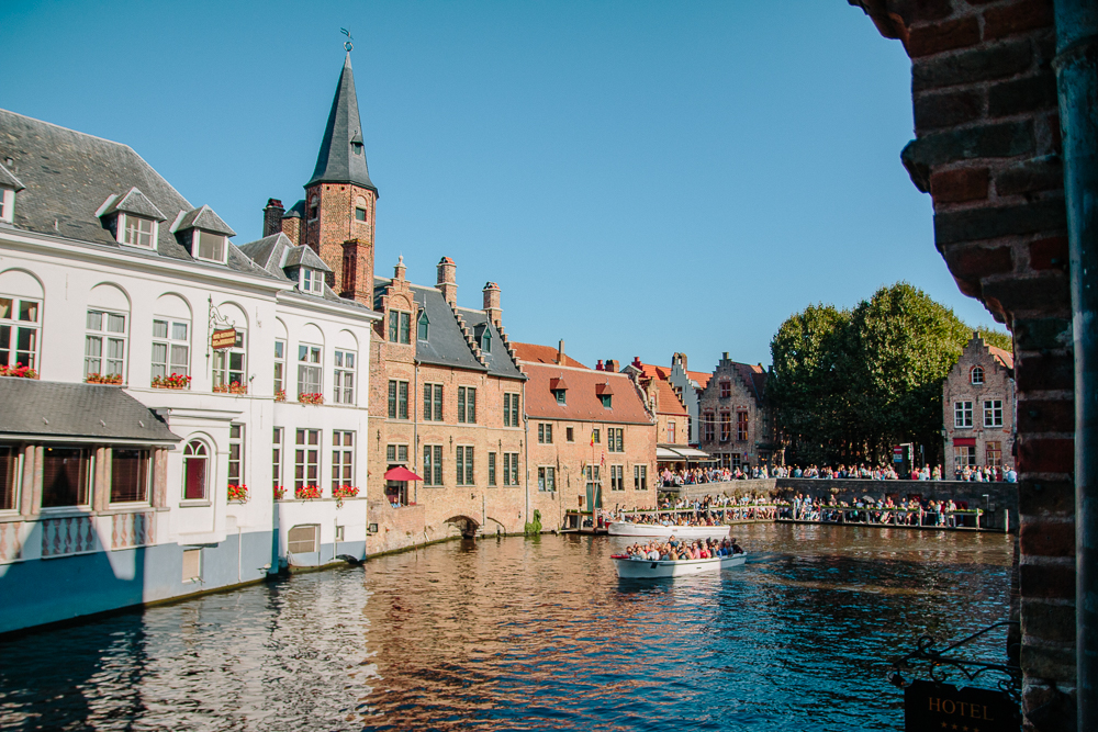 Bruges Boat Area