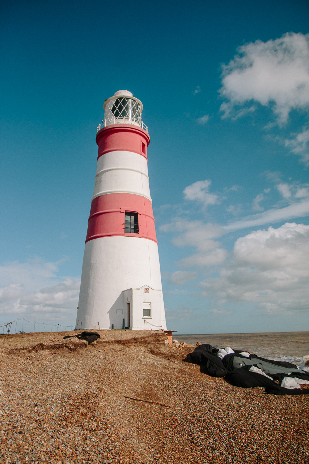Orford Ness Lighthouse Falling into sea