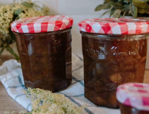 Homemade Rhubarb and Strawberry Jam Recipe