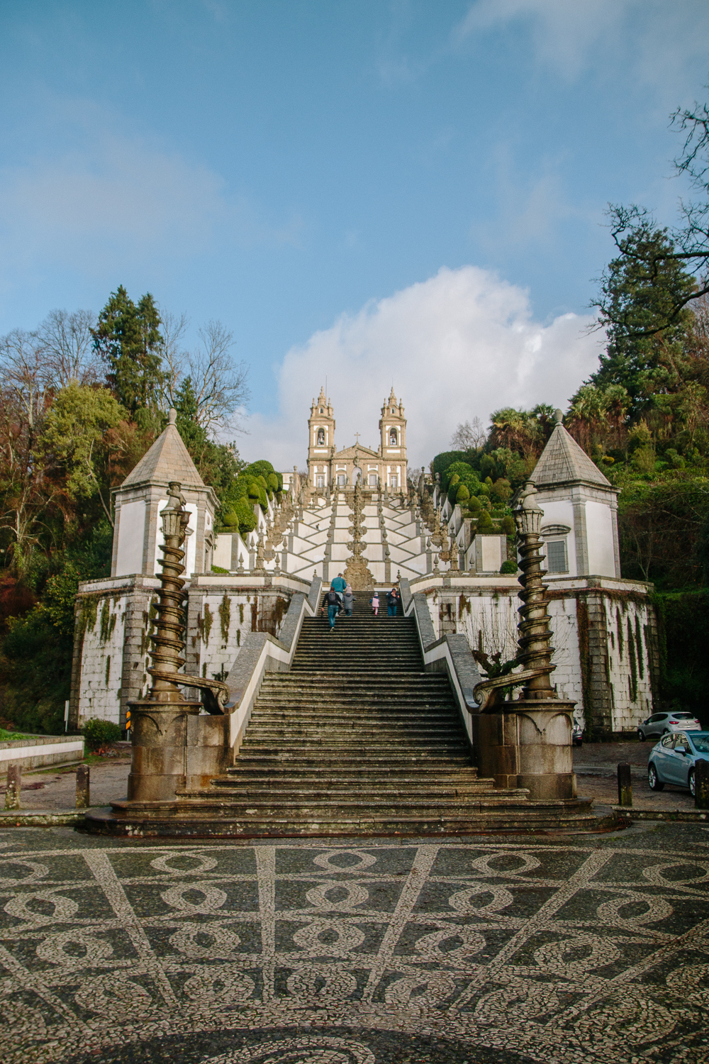 Stairs at Bom Jesus do Monte