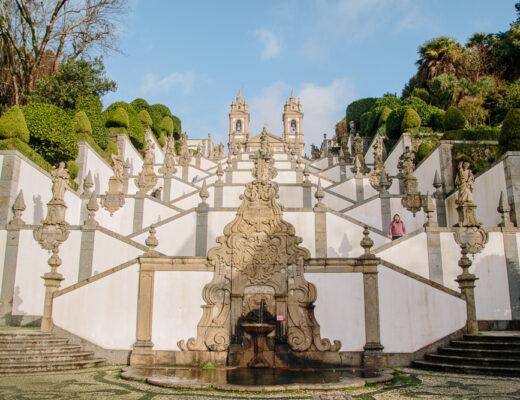 Stairs at Bom Jesus do Monte