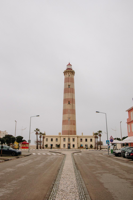 Farol de Aveiro Lighthouse of Praia da Barra
