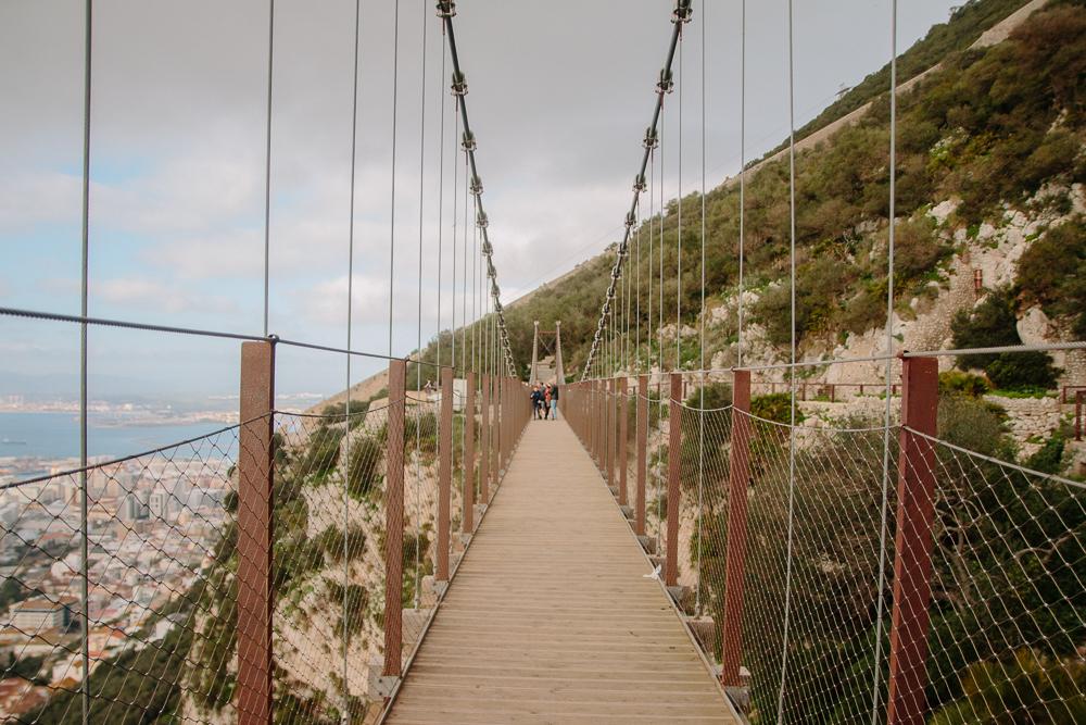 Windsor Suspension Bridge Gibraltar Nature Reserve