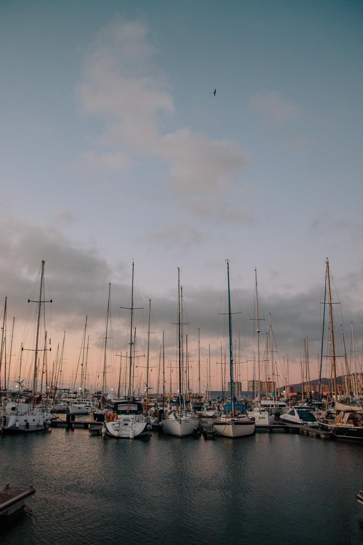 La Linea de la Concepcion Marina Campervan Parking