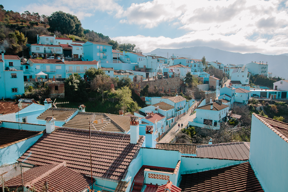 Real Life Smurf Village in Spain