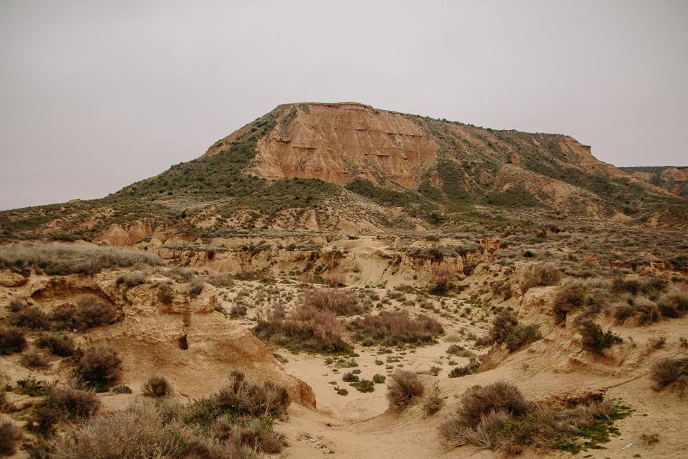 Bardenas Reales desert in Navarre, Northern Spain