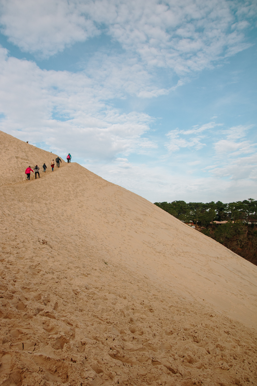 How steep is the Dune du Pilat