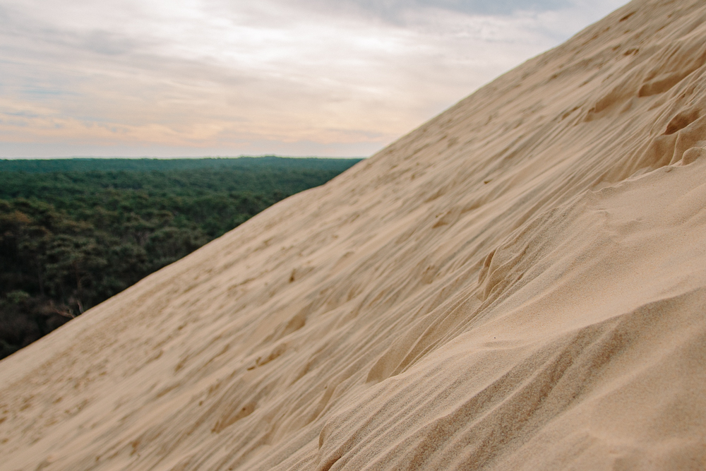 How steep is the Dune du Pilat