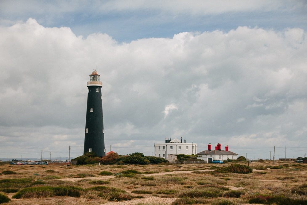Dungeness Old Lighthouse in Kent
